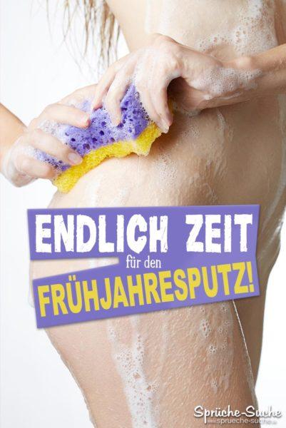 Sprüche Frühjahresputz - Sexy car wash