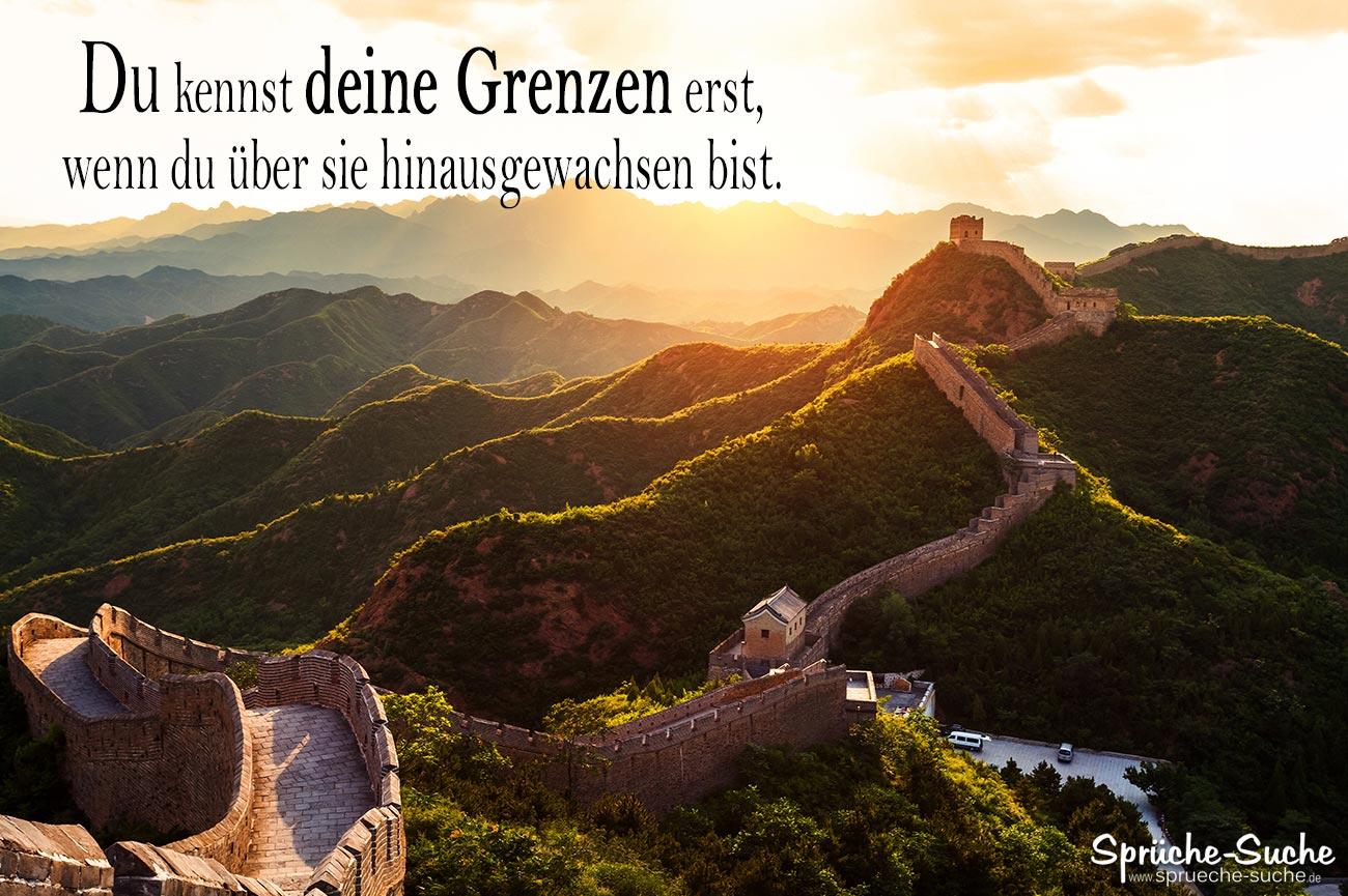 bilder sprüche lebensweisheiten Sprüche Lebensweisheiten   Deine Grenzen   Chinesische Mauer  bilder sprüche lebensweisheiten