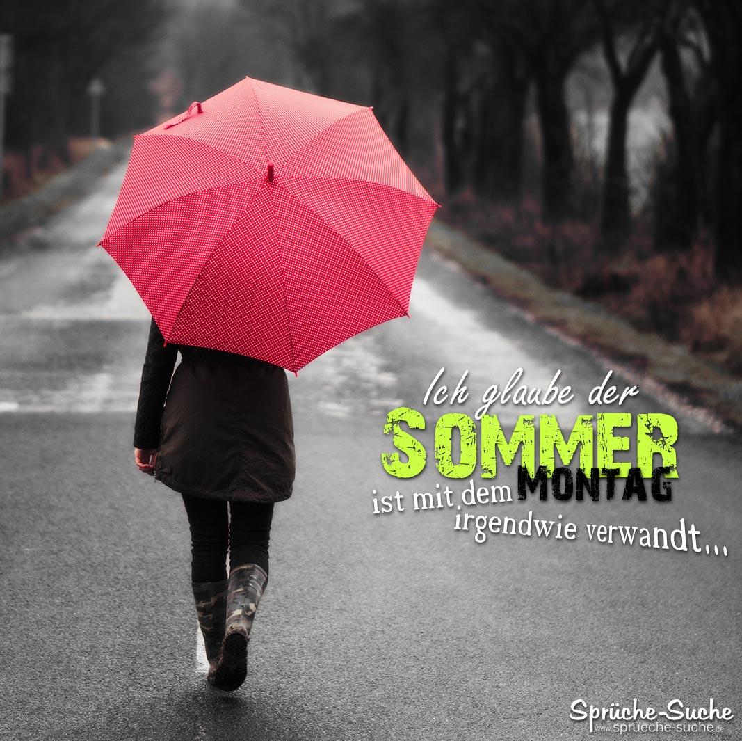 Schlechter Sommr Sprüche   Roter Regenschirm   Sprüche Suche