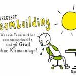 Teambuilding - Hitze im Büro Sprüche