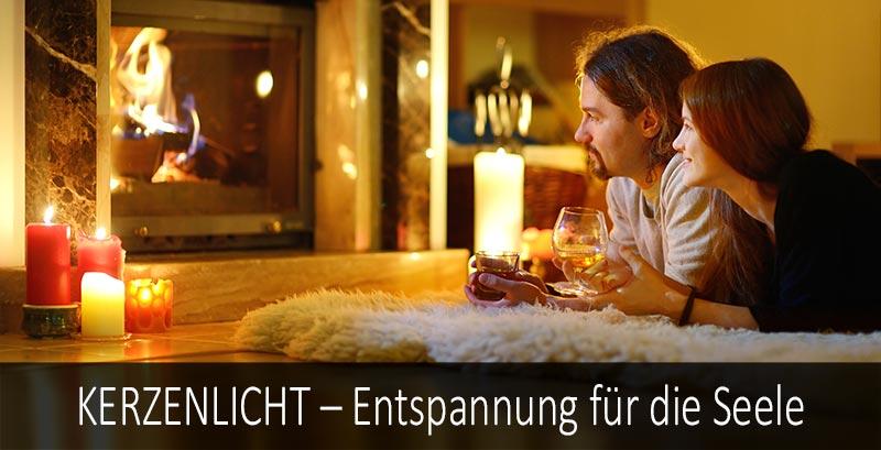 Kerzenlicht - Entspannung für die Seele