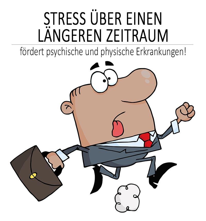 Stress ist ungesund