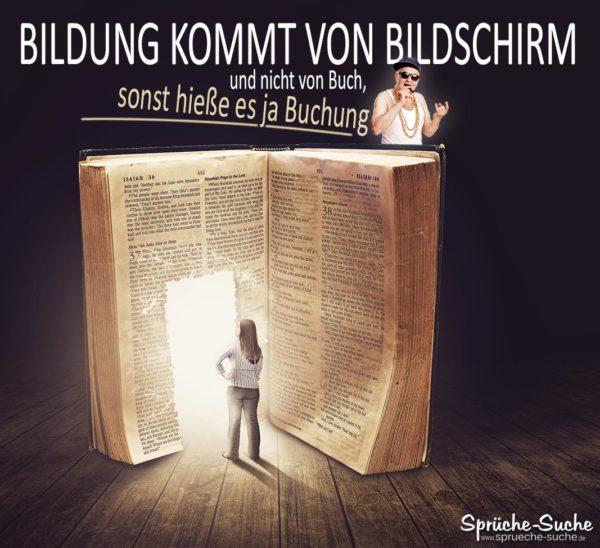 Bildung - Lustige Sprüche Buch lesen