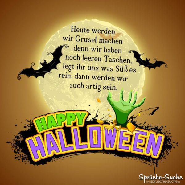 Halloweensprüche - Grusel machen