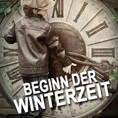 Beginn der Winterzeit