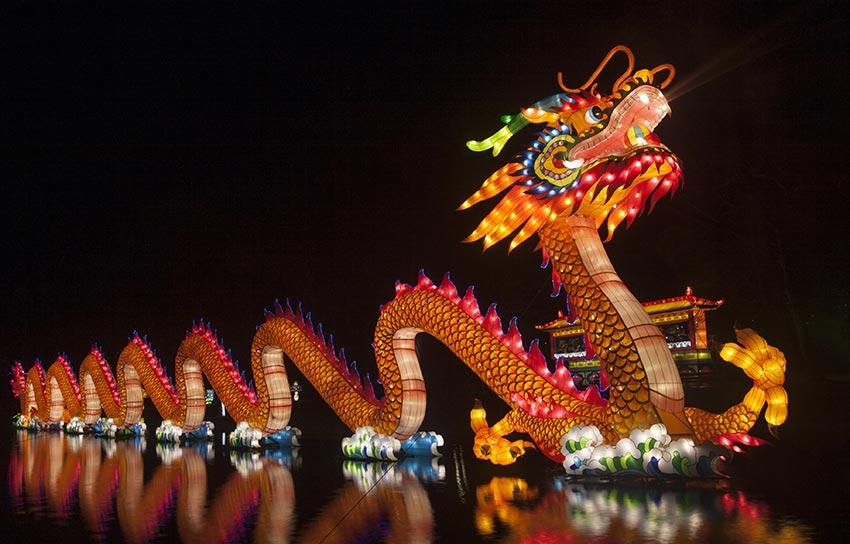 Chinesisches Neujahrsfest Drachen - Sprüche-Suche