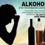 Ernste Alkohol-Sprüche zum Nachdenken - Sucht