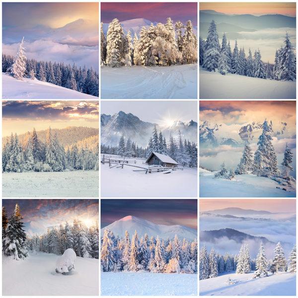 Hochwinter - Winterlandschaften