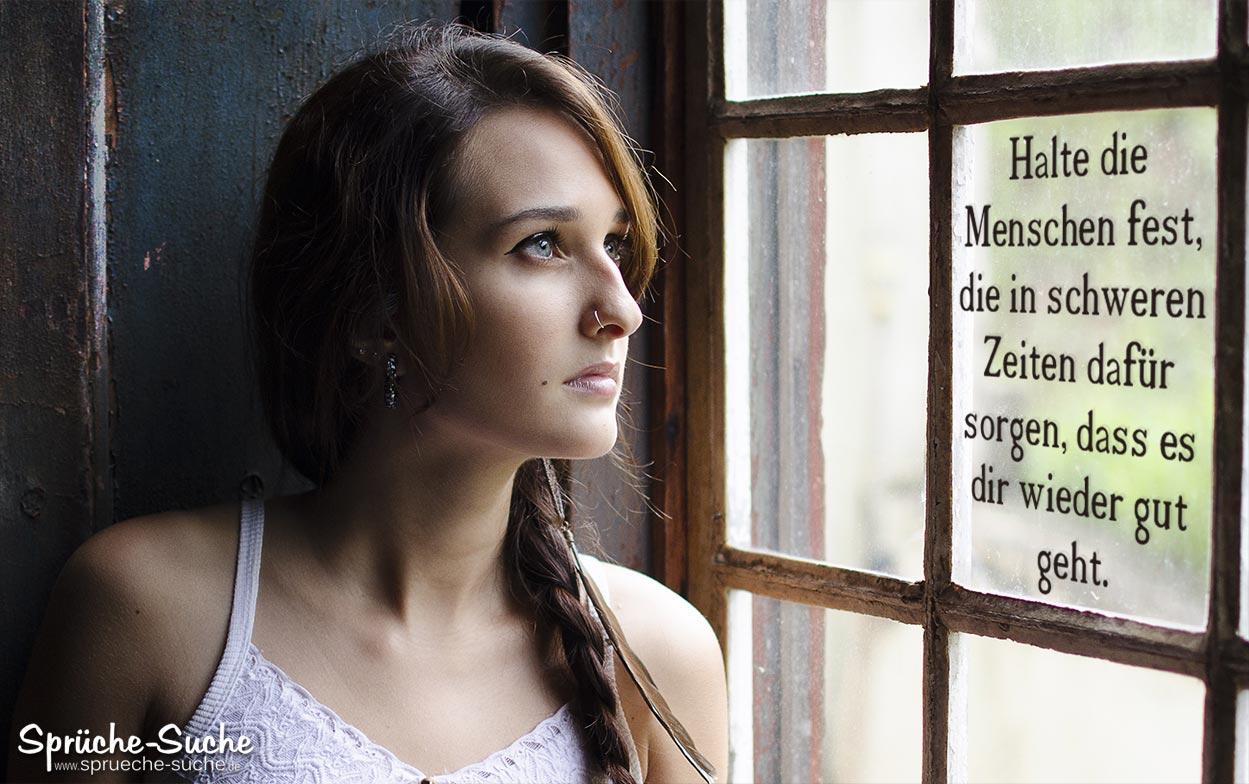 Menschen in schweren Zeiten - Schöne Sprüche zum ...