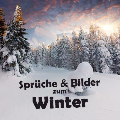 Schöne Wintersprüche