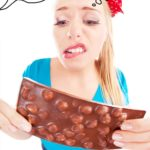 Schokolade genascht - Lustige Bilder und Sprüche
