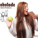 Schokolade Sprüche - lustige Ausreden