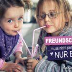 Wahre Freunde unter Kindern