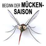 Beginn der Mückensaison