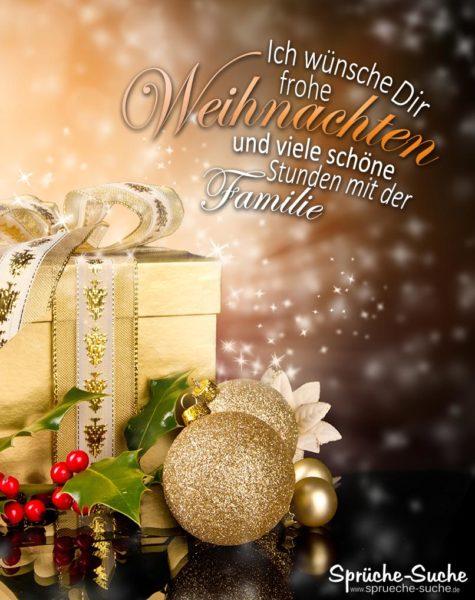 Schöne Stunden mit der Familie - Sprüche und Karten zu Weihnachten