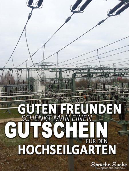 Umspannwerk - Gutschein Hochseilgarten lustig