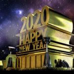 Happy New Year Jahr 2020 Silvester Bilder
