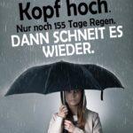 Lustiger Spruch schlechtes Wetter