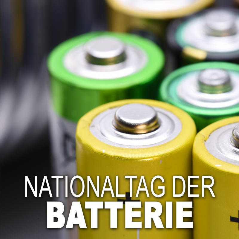 Nationaltag der Batterie