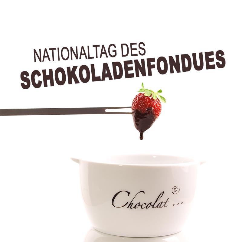 Nationaltag des Schokoladenfondues