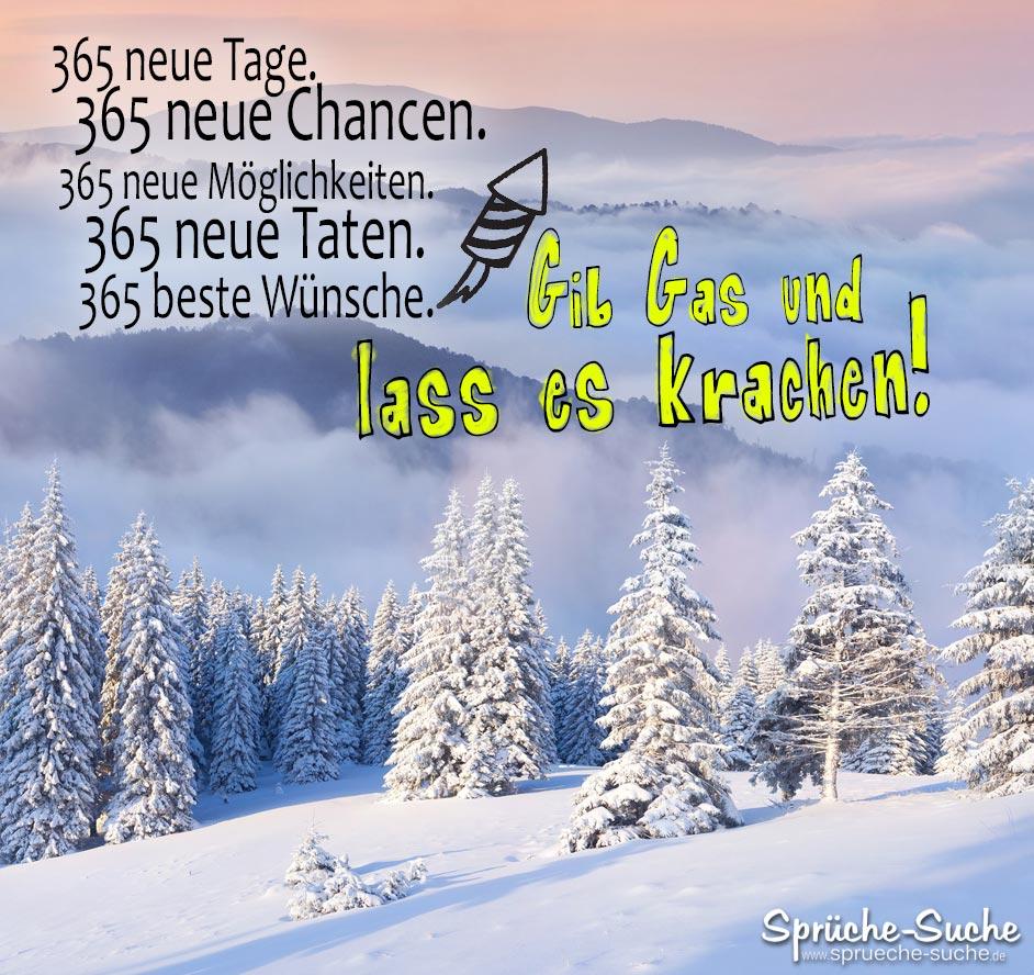 Spruch Für Silvester Und Neujahr 365 Tage Sprüche Suche