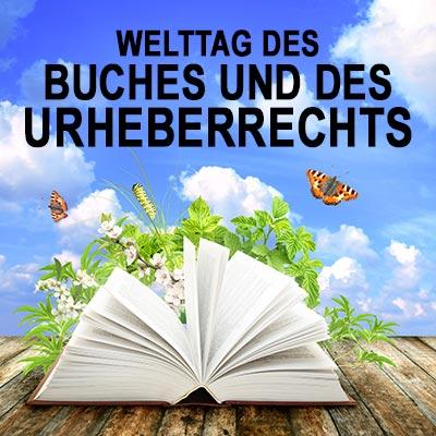 Welttag des Buches und des Urheberrechts