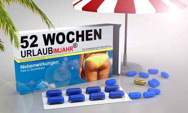 Medikamente lustig - Urlaubspillen