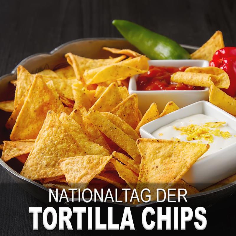 Nationaltag der Tortilla Chips