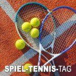 Spiel-Tennis-Tag