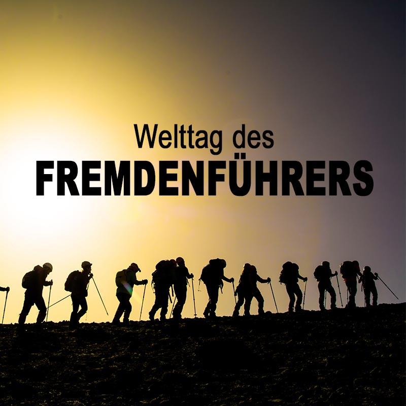 Welttag des Fremdenführers