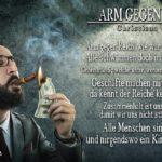 Arm gegen Reich - Gedicht von Christiana Graf