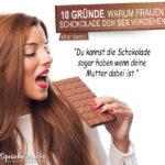 Warum Schokolade besser als Sex ist - Deine Mutter