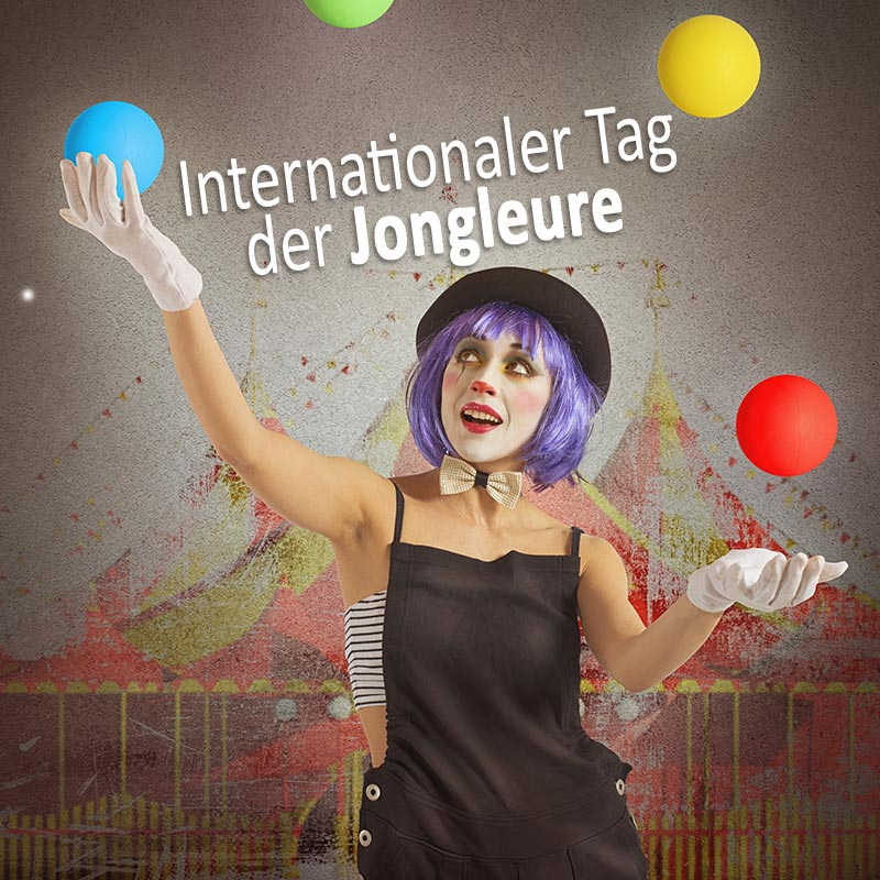 Internationaler Tag der Jongleure