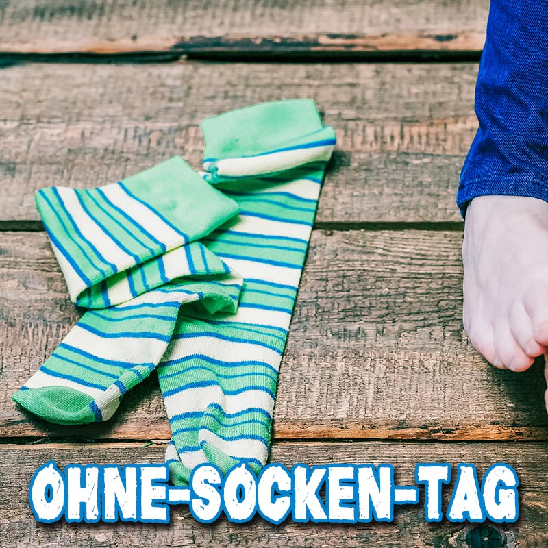 Ohne-Socken-Tag