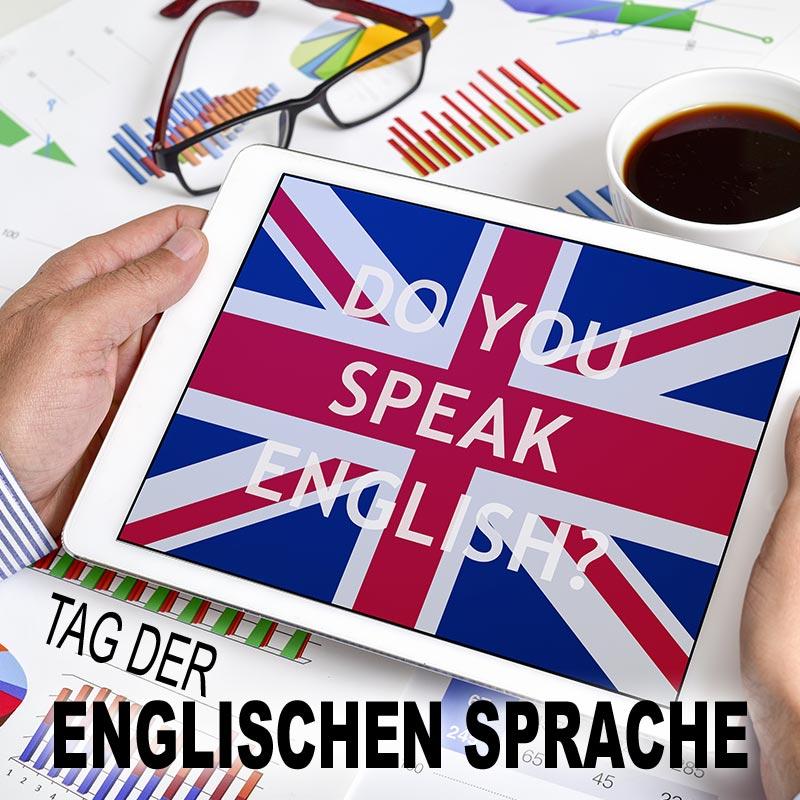 Internationaler Tag der englischen Sprache