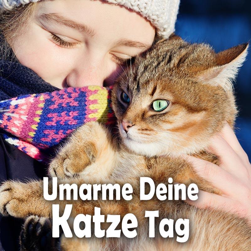 Umarme-Deine-Katze-Tag