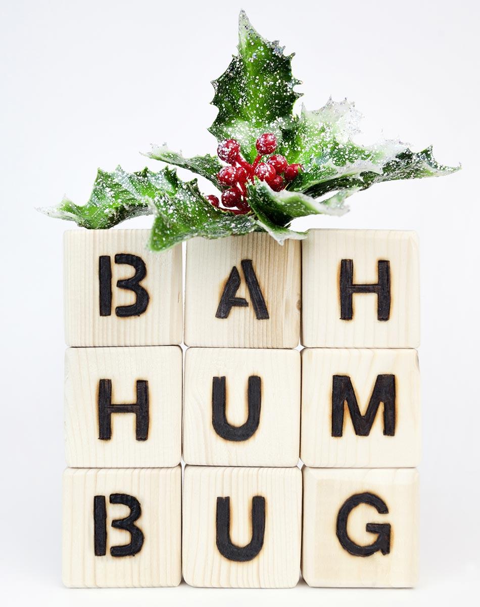 Stress zu Weihnachten - Unmut!
