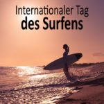 Internationaler Tag des Surfens