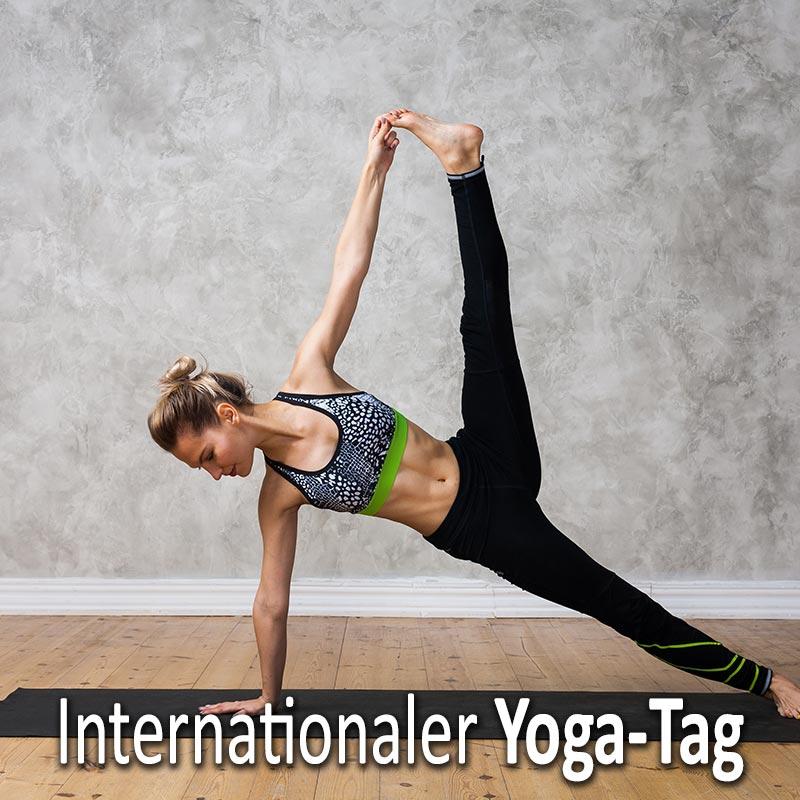 Internationaler Yoga-Tag