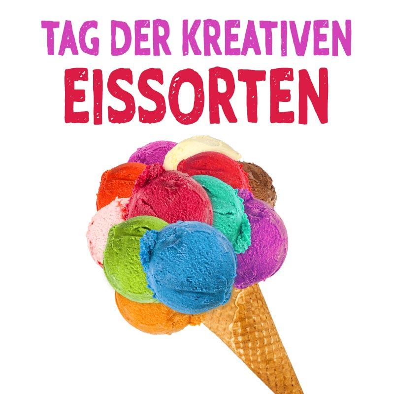 Tag der kreativen Eissorten