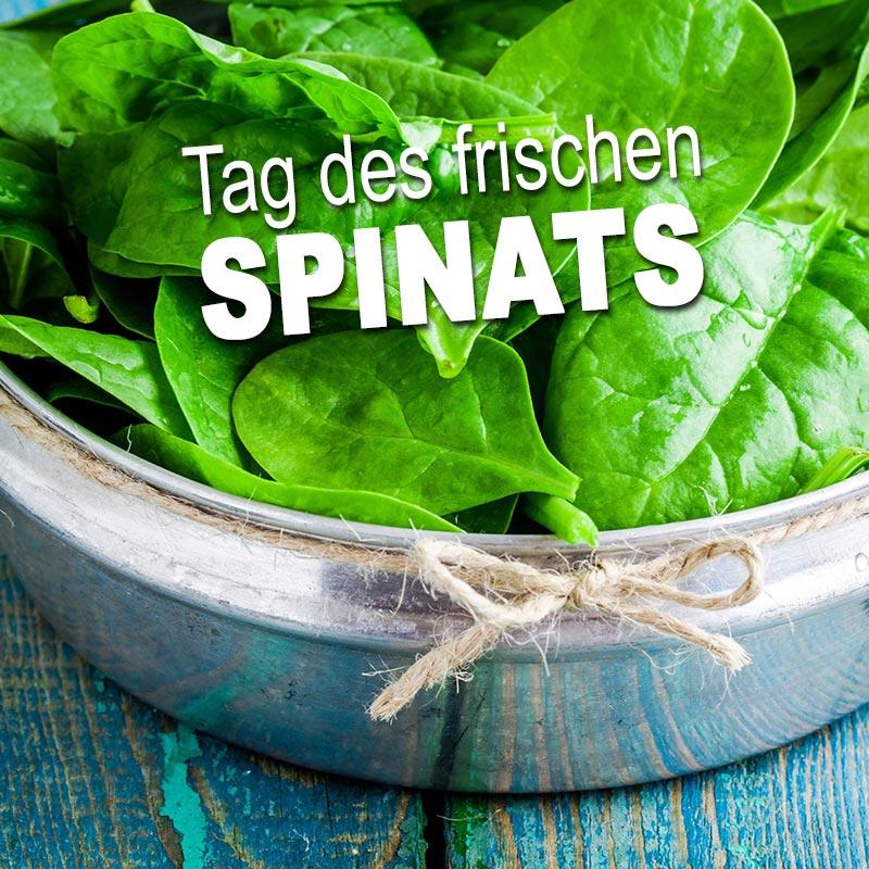 Tag des frischen Spinats