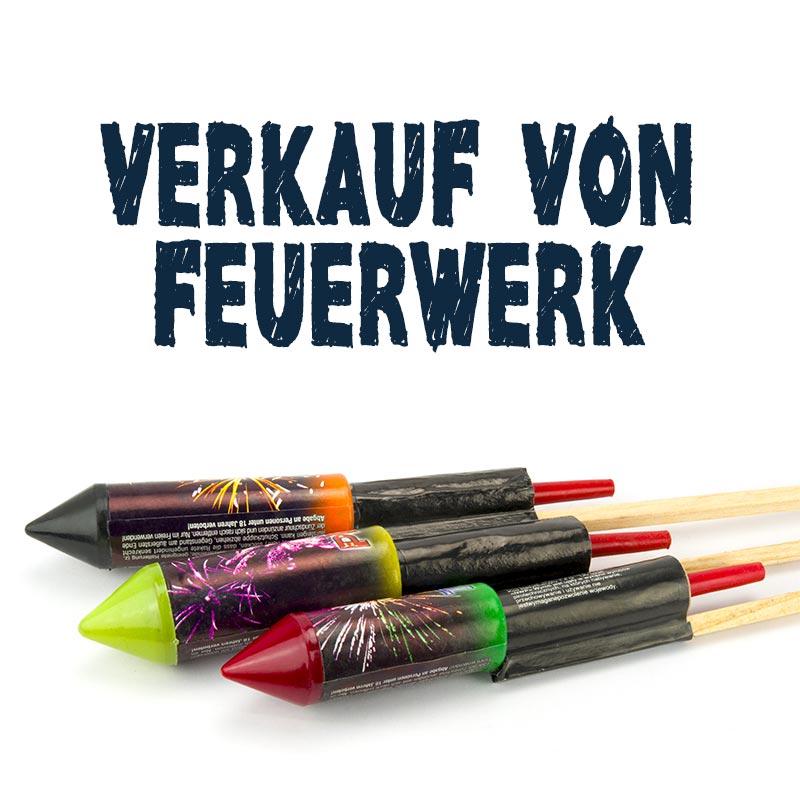 Verkauf von Feuerwerk