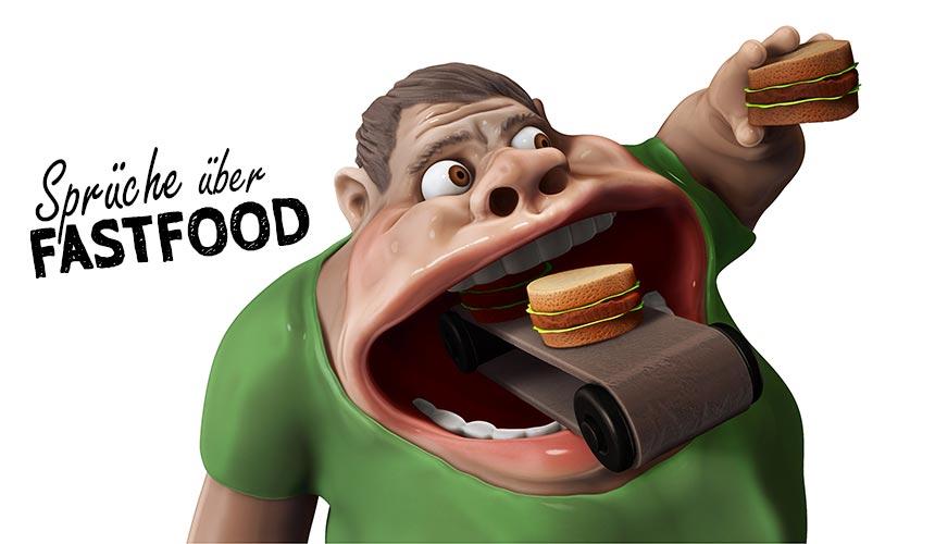 Fastfood Sprüche