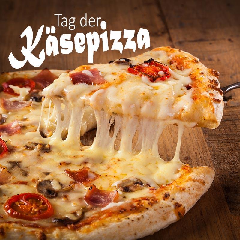 Tag der Käsepizza
