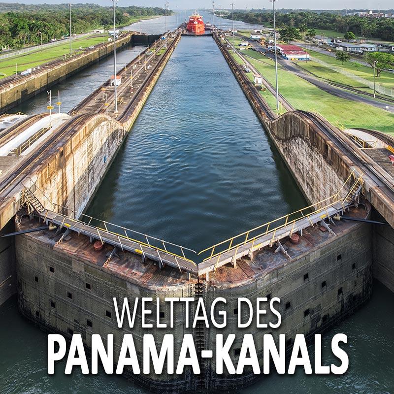 Welttag des Panama-Kanals