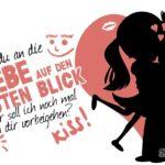 Lustiger Anmachspruch zum Flirten - Liebe auf den ersten Blick