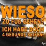 Audi Sprüche - 4 gesunde Reifen