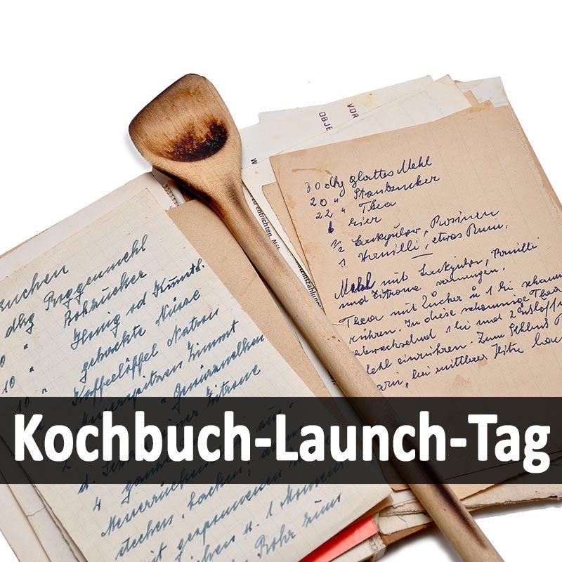 Kochbuch-Launch-Tag
