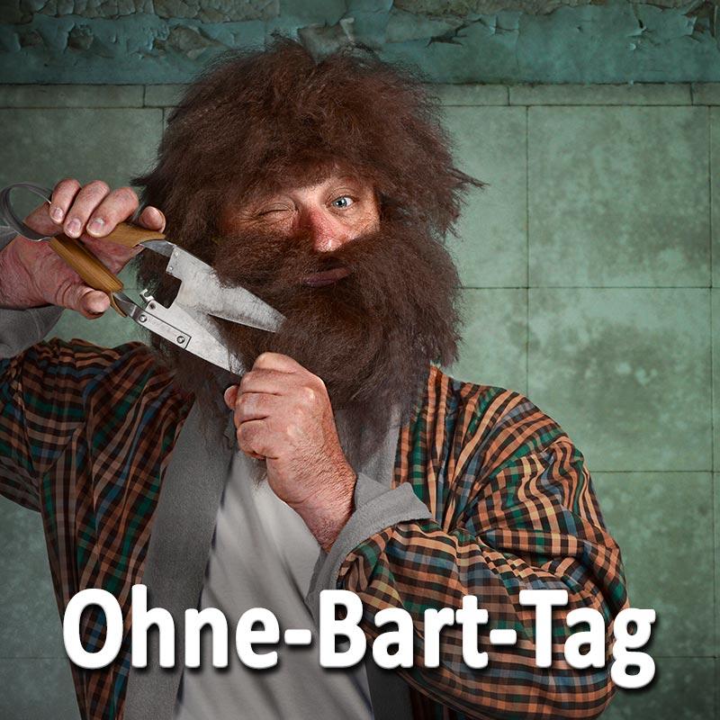 Ohne-Bart-Tag