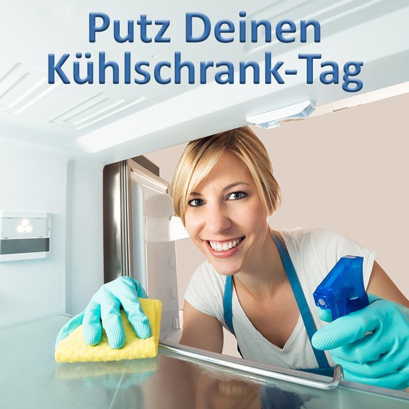 Putz-Deinen-Kühlschrank-Tag